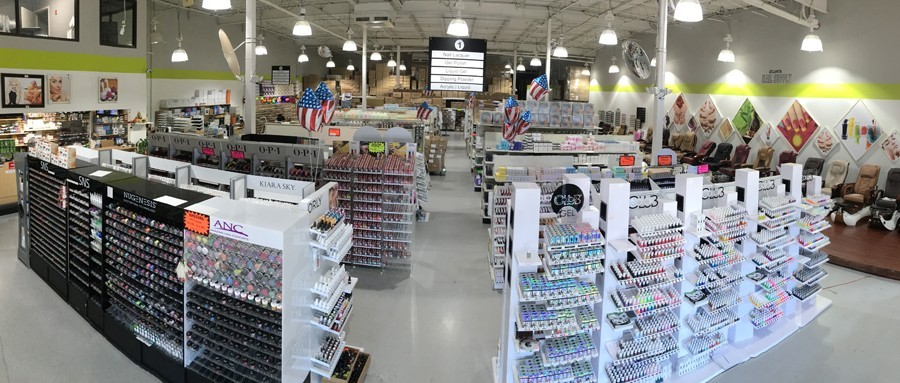 Nail Supply Showroom in Duluth, GA