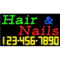 Hair & Nails: G,B,R,. Phone: Y,W,.