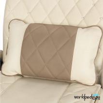 Gulfstream Ampro Pedicure Chair - Biscuit Cappuccino Pillow