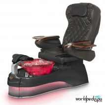 Gulfstream Ampro Pedicure Chair - 9660 Black Black