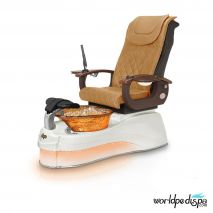Gulfstream Ampro Pedicure Chair - Butterscotch WhiteGulfstream Ampro Pedicure Chair -