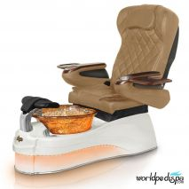 Gulfstream Ampro Pedicure Chair - Curry White