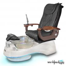 Gulfstream Camellia Pedicure Chair - 9620 Black