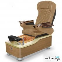 Gulfstream Camellia Pedicure Chair - Curry Gold