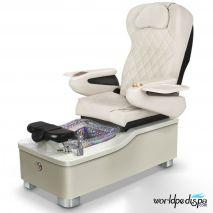 Gulfstream Camellia Pedicure Chair - White