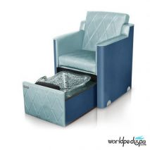 Gulfstream GS La Rosina Pedicure Bench - Lagoon