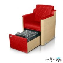 Gulfstream GS La Rosina Pedicure Bench - Garnet
