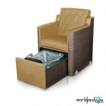 Gulfstream GS La Rosina Pedicure Bench - Sandstone