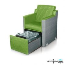 Gulfstream GS La Rosina Pedicure Bench - Green
