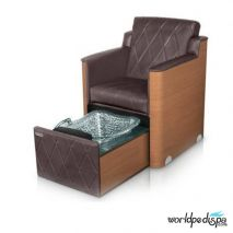 Gulfstream GS La Rosina Pedicure Bench - Chestnut