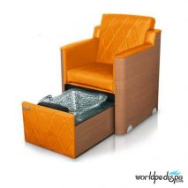 Gulfstream GS La Rosina Pedicure Bench - Orange