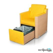Gulfstream GS La Rosina Pedicure Bench - Yellow