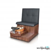Gulfstream GS Selena Pedicure Bench - Black Truffle