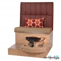 Gulfstream GS Selena Pedicure Bench - Hollyhock Style 22