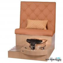 Gulfstream GS Selena Pedicure Bench - Maple