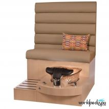 Gulfstream GS Selena Pedicure Bench - Curry