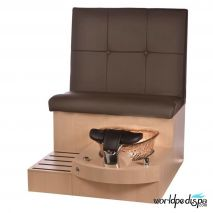 Gulfstream GS Selena Pedicure Bench - Truffle