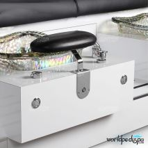 Gulfstream GS Vienna Triple Pedicure Bench - attached Footrest