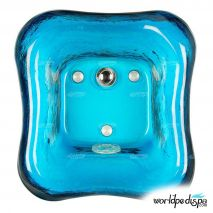 Gulfstream GS-5004 La Fleur Glass Bowl - Blue