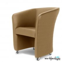 Gulfstream La Fleur 3 +Verona Collection  31 pcs Package - Butterscotch ChiQ Tube Chair