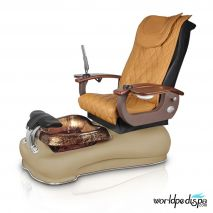 Gulfstream La Fleur III Pedicure Chair - 9620 Butterscotch Cappuccino