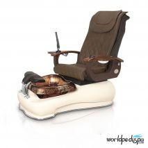 Gulfstream La Fleur III Pedicure Chair - 9620 Truffle Biscuit