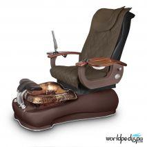 Gulfstream La Fleur III Pedicure Chair - 9620 Truffle Mahogany