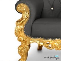 Gulfstream La Queen Throne Chair - Legs