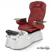 GGulfstream La Trento Pedicure Chair - Burgundy