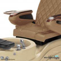 GGulfstream La Trento Pedicure Chair - Closer View