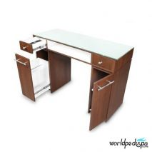 Gulfstream Paris Manicure Table - Drawers
