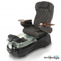 La Tulip 2 Pedicure Chair - 9660 Black Black Black