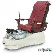 Gulfstream La Tulip 3 Pedicure Chair - Hollyhock Biscuit Clear