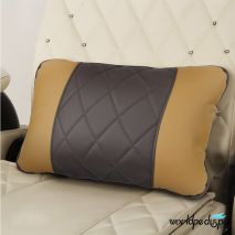 Gulfstream Camellia Pedicure Chair - Butterscotch Truffle Pillow