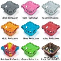 Gulfstream GS5015 Hard Rock Glass Bowl - Color Options
