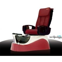 L240 pedi chair - Burgundy