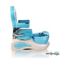 Little Mermaid Blue Kid Pedicure Chair