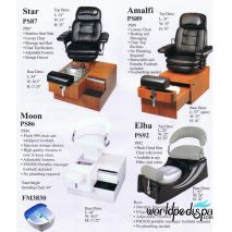 PS 89 Amalfi Portable Pedicure Chair