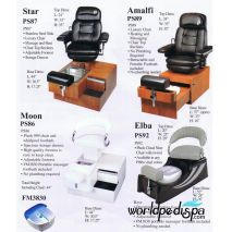 PS 93 Footsie Portable Pedicure Chair
