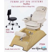 PS84A San Remo Turbo Jet Pedicure Chair