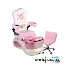 Pink Pixie Kid Pedicure Chair