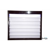 OverStock Sale- - 2 oz Powder Rack with LED -CAFELLE COLOR - Cafelle/White