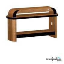 Chestnut/Cherry -Nail Dryer Table for Salon