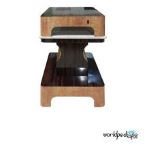 Cherry/Chestnut -Nail Dryer Table for Salon