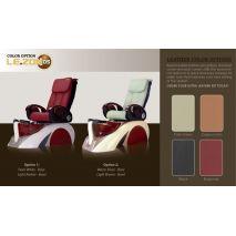 D5 pedicure chair color options