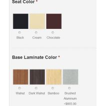 Seat & Base Color