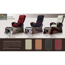 Z430 pedicure chair - color options