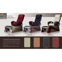 Z430 pedicure chair - color options