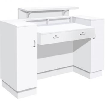 SC06 White with White Quartz Top Back