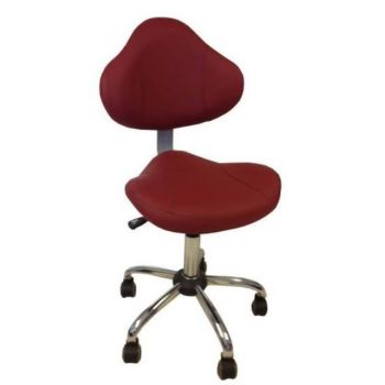 PS TC-001 Technician Chair Bright Burgundy